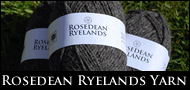 Coloured Ryeland Yarn