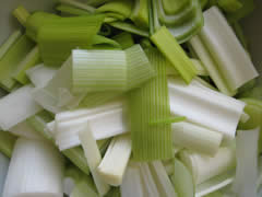 It wouldn't be cock-a-leekie without leeks