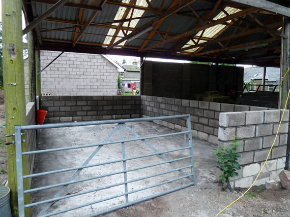 Barn enclosure