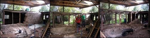 Barn shed progress